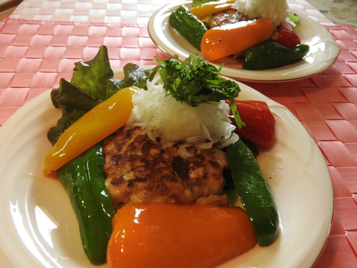 妊活レシピ,不妊,薬膳,妊活,食事,薬膳お魚ハンバーグ